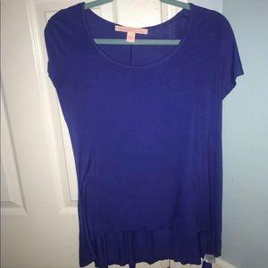 blue dressy top